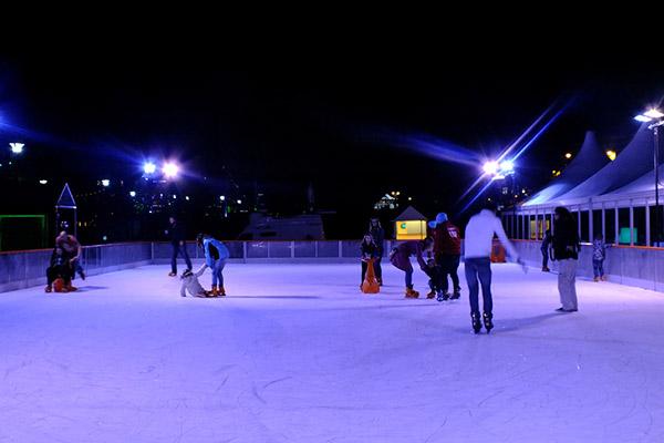 christmas ice rink Upperdog digital marketing
