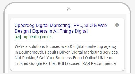 expanded google pay per click advertising